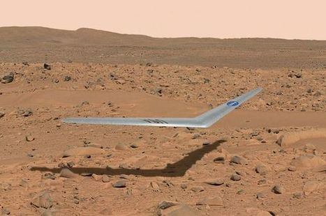 NASA could be planning to send a weird-looking plane all the way to Mars | Aerospace industry watch - Paris Air Show | Scoop.it