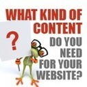 What type of content do you need for your site? | Public Relations & Social Media Insight | Scoop.it