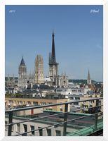 Le Blog de Rouen, photo et vidéo: Terrasse d' altitude   MaisonNet   Scoop.it