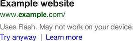 SEO : Google veut pénaliser les sites mobiles utilisant Flash | Product CarBoat | Scoop.it