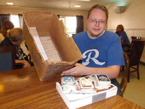 Topeka resident amasses large baseball card collection - Topeka Capital Journal | Baseball cards | Scoop.it