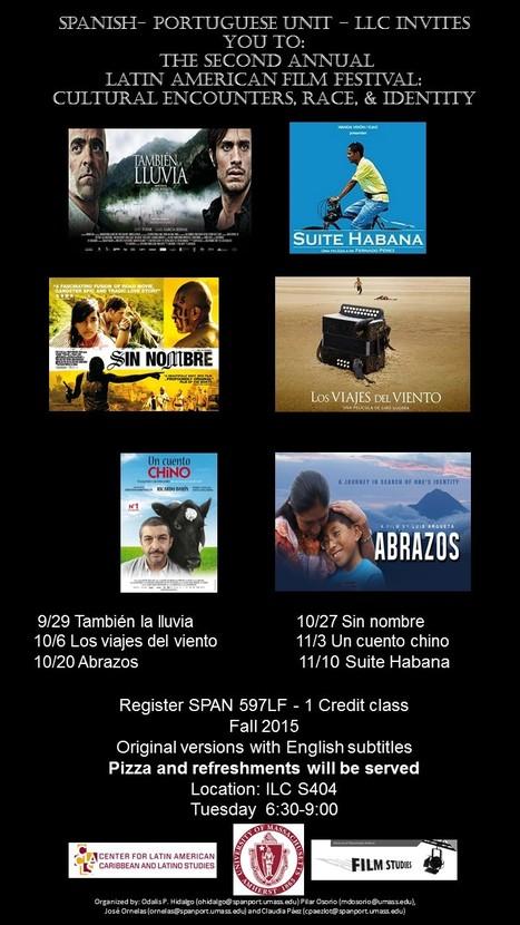 LATIN AMERICAN FILM FESTIVAL | The UMass Amherst Spanish & Portuguese Program Newsletter | Scoop.it