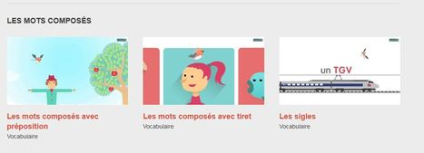 Les dernières séries ajoutées -Vocabulaire- Les animations des Fondamentaux - Réseau Canopé | Ressources Ecole | Scoop.it