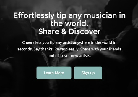 #Bitcoin Tipping App Cheers Aims to Change How #Musicians Get Paid | ltcinvestors | Scoop.it