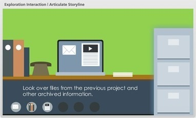 Free PowerPoint Template & Articulate Storyline: e-Learning Interaction | Create, Innovate & Evaluate in Higher Education | Scoop.it