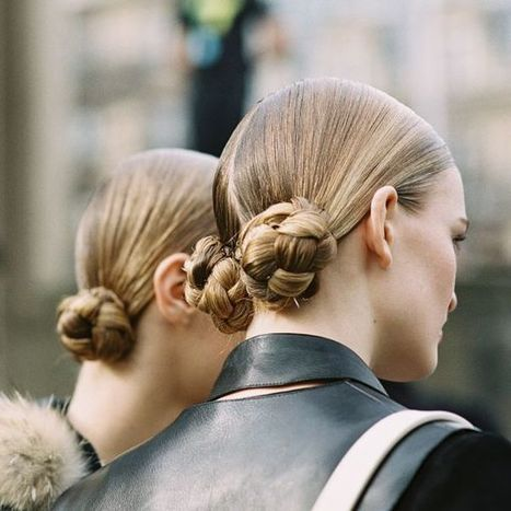 Double bun, double fun - Belmodo | kapsel trends | Scoop.it