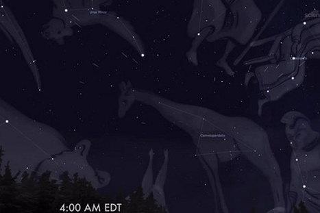 Never-before-seen meteor shower this weekend: How to watch it | enjoy yourself | Scoop.it