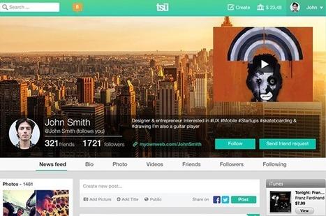 TSU, nova rede social paga por conteúdo gerado e tempo gasto pelo usuário | Social Media | Scoop.it