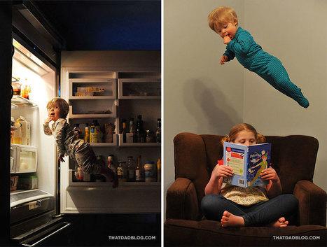 Un père offre des super-pouvoirs à son fils de un an... Et le résultat est juste époustouflant ! | Aidants familiaux | Scoop.it