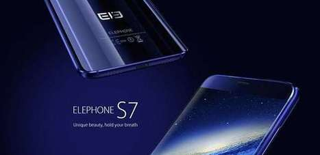 Elephone S7 clone di qualità del Galaxy S7 Edge | guideitech | Scoop.it