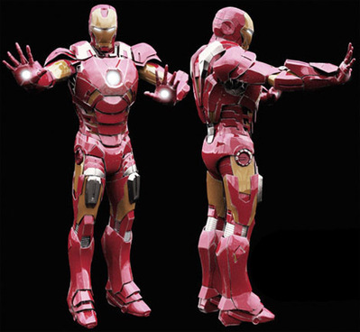 Iron Man 3D | 3D Library | Scoop.it