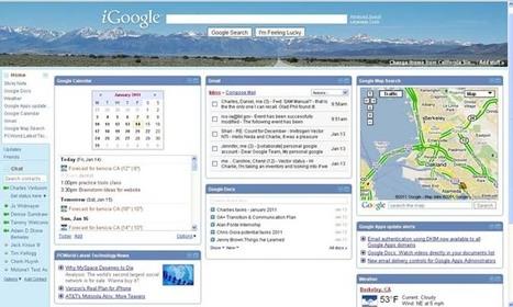 iGoogle a définitivement fermé ses portes   Geeks   Scoop.it