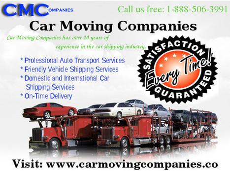 Local and International Car Moving Companies | carmovingcompanies | Scoop.it