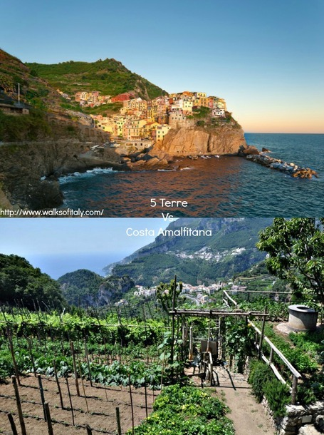 Amalfi Coast vs. Cinque Terre: Deciding Between Italy's Most Popular Coastlines | Italia Mia | Scoop.it