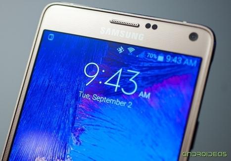 El Samsung Galaxy Note 4 ya es oficial | Androideas | Scoop.it