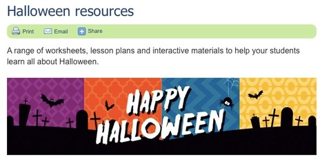 Halloween resources | English Language Teaching | Scoop.it