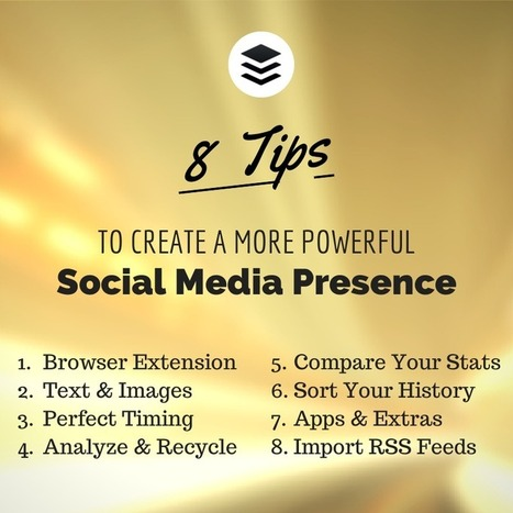 The 8 Most Useful Buffer Features for a Powerful Social Media Presence | GooglePlus Expertise | Scoop.it