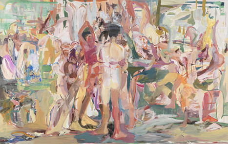 Somewhere Between A Scantily-Clad Seance And An Overheated Bathhouse... #art #painting #CecilyBrown | Luby Art | Scoop.it