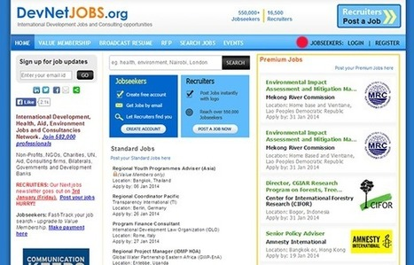 15 Online Job Boards for Nonprofit Professionals | Professional Development for Public & Private Sector | Scoop.it