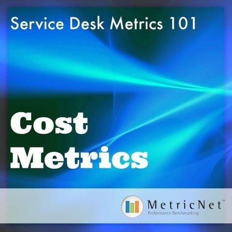 Service Desk Metrics 101 | Cost Metrics | IT | Service Desk | Desktop Support | Call Center | Performance Benchmarking | Scoop.it