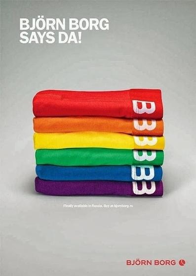 Björn Borg publie un pub de soutien aux LGBT dans la presse russe   16s3d: Bestioles, opinions & pétitions   Scoop.it
