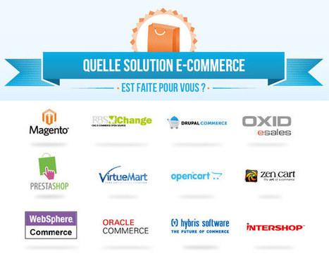 12 solutions E-commerce analysées au peigne fin ! : Capitaine Commerce 3.6 | Webmarketing Ecommerce | Scoop.it