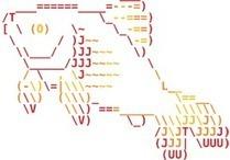 The Fish Shell   ASCII Art   Scoop.it