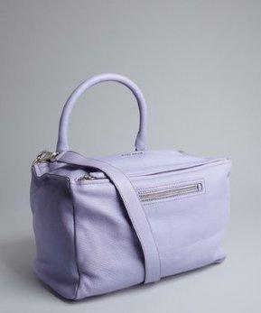 Givenchy lilac leather 'Pandora' medium convertible satchel | Super HIT BRANDS | Scoop.it