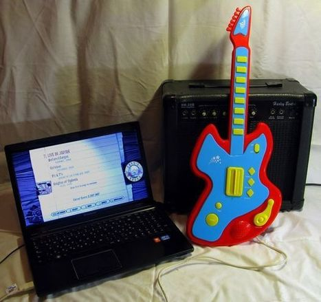 Guitar Hero USB controller with Arduino and Java | Raspberry Pi | Scoop.it