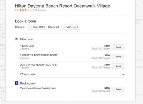 TripAdvisor and Google make the top three hotel search results even more precious - Tnooz | Tourism marketing | Scoop.it