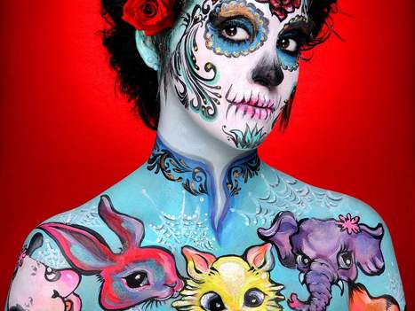 Body is canvas for Orange City artist Shannon Holt - Daytona Beach News-Journal | Body Painting | Scoop.it