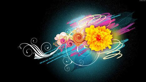 Flower Vector Designs 1080p | Hq Wallpapers Fun | hd-wallpaper-fun | Scoop.it