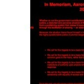 Anonymous Hacks MIT in Aaron Swartz's Name, turns sites into Memorials | Tracking Transmedia | Scoop.it