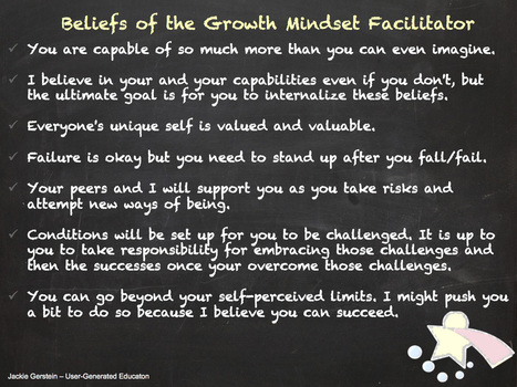 Being a Growth Mindset Facilitator | 21st Century Literacy and Learning | Scoop.it