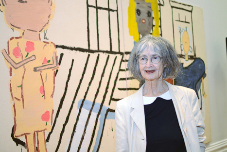 Rose Wylie claims UK painting's biggest prize; 80-year-old artist scoops £25,000 first prize | Women and Art: Contextualizing women's individual artistic output within the crossings of international history, social belonging, and political intent. | Scoop.it