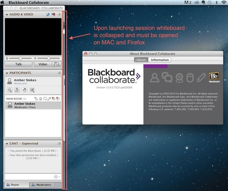 Blackboard Collaborate: Known issue | CCC Confer | Scoop.it