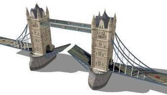 Tower Bridge, London by Jake Martin - 3D Warehouse | 3D Model | Scoop.it