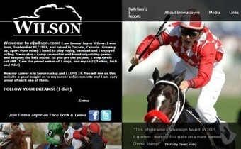 Horse Racing marketing ideas person of the week: Emma Jayne Wilson :: Racing Future | News on Riding, Show, & Sport | Scoop.it