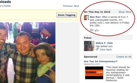 Facebook se la joue nostalgique | Le Journal du Geek | A l'ère du webmarketing. | Scoop.it