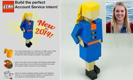 Build the perfect intern! Girl sends mini LEGO lookalikes to employers | Kickin' Kickers | Scoop.it