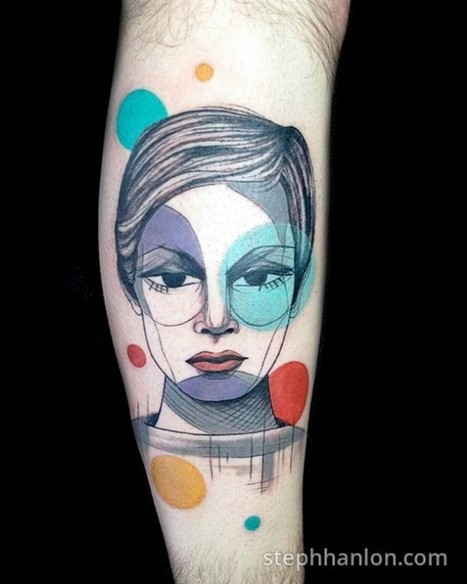 Steph Hanlon's Painterly Tattoos Are Fine Art for Your Skin #art #drawing #tattoos #painting | Luby Art | Scoop.it