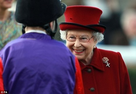 The Queen grimaces as her horse finishes seventh at Newbury | Horse Racing News | Scoop.it