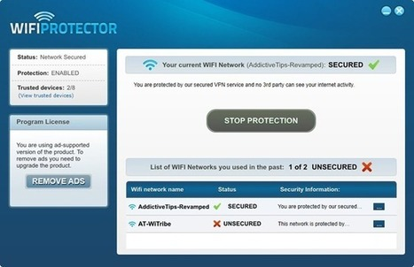 WiFi Protector: Secure Your WiFi Connection With 256 Bit Encryption & Change IP Address | Time to Learn | Scoop.it