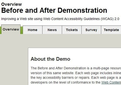 Before and After Demonstration: Overview | Inclusive teaching and learning | Scoop.it