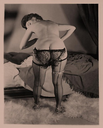 Vintage Black Lace Panties & Fishnet Stockings | Sex History | Scoop.it