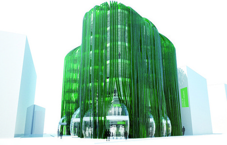 Algae Urban Farm / ecoLogicStudio - eVolo | Architecture Magazine | Futurable Planet: Answers from a Shifted Paradigm. | Scoop.it