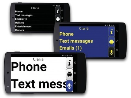 Lancement de Claria Zoom, l'application qui rend les smartphones plus lisibles pour les seniors et les malvoyants | Seniors | Scoop.it