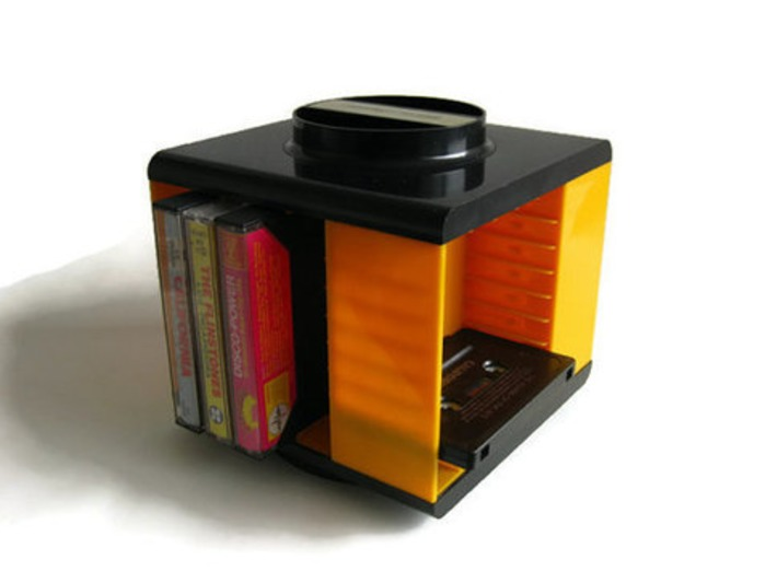 Cassette Tape Holder | Kitsch | Scoop.it