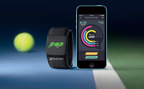 Babolat POP : un bracelet dédié au tennis connecté | Innovation @ Lyon | Scoop.it