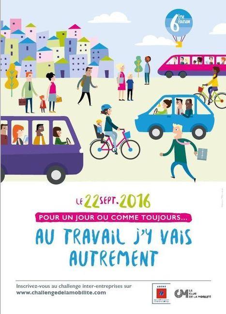 Challenge de la mobilité du 22 septembre : songez au vélo! - Atelier Vélo Txirrind'Ola | BABinfo Pays Basque | Scoop.it